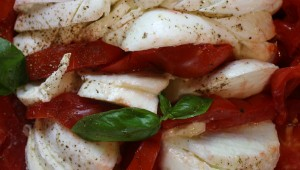 Vegeterian Yoga Retreat - Caprese salad