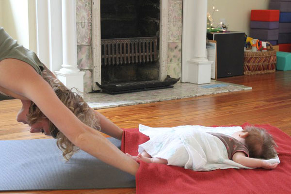 Baby & Me Yoga - Down Dog