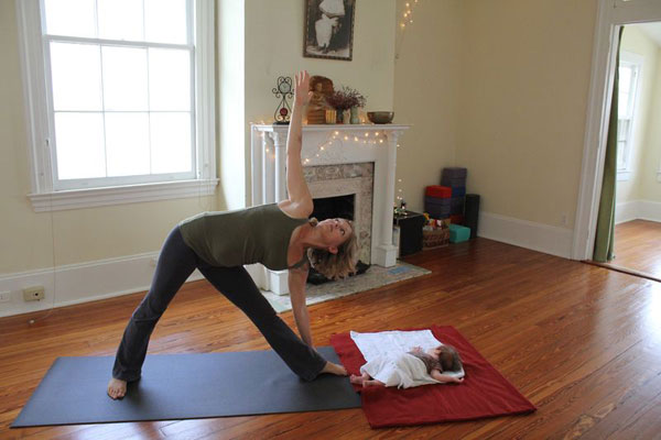 Post image for Baby & Me Yoga Wednesdays 9:30-10:45am & last Saturday of the month at 9am