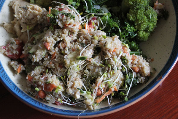 Post image for Easy Summertime Quinoa Salad by Jessica Blanchard