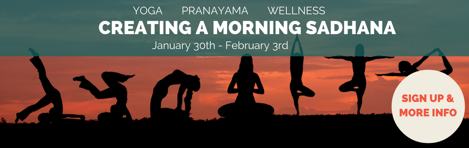 Creating A Morning Sadhana: Hang Onto Your New Year's Resolution!