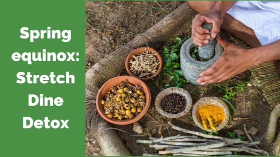 Post image for Spring Equinox: Stretch, Dine, & Detox, Saturday March 18th