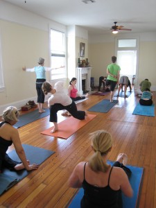 Typical Mysore Class at Balance Yoga Wellness