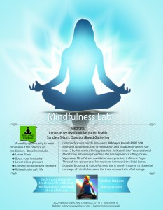 Balance Meditation Flyer