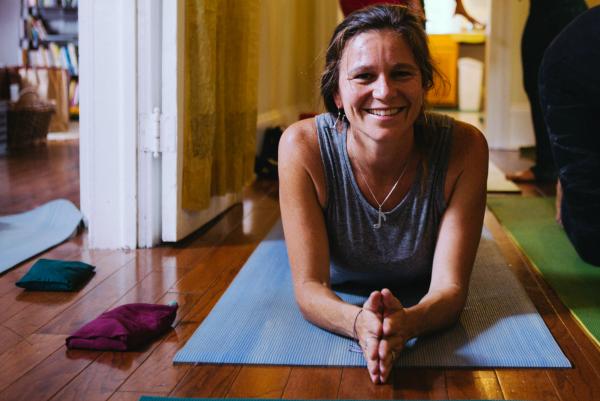 Yoga Teacher Seneca Hennrich At Balance